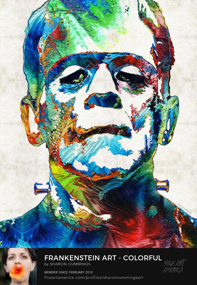Frankenstein Art