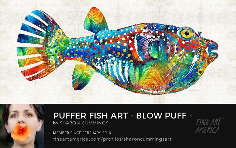 Pufffer Fish Art Prints