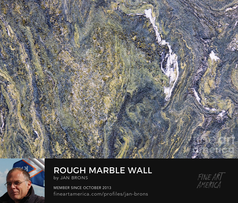 Rough Marble Wall - Art Prints