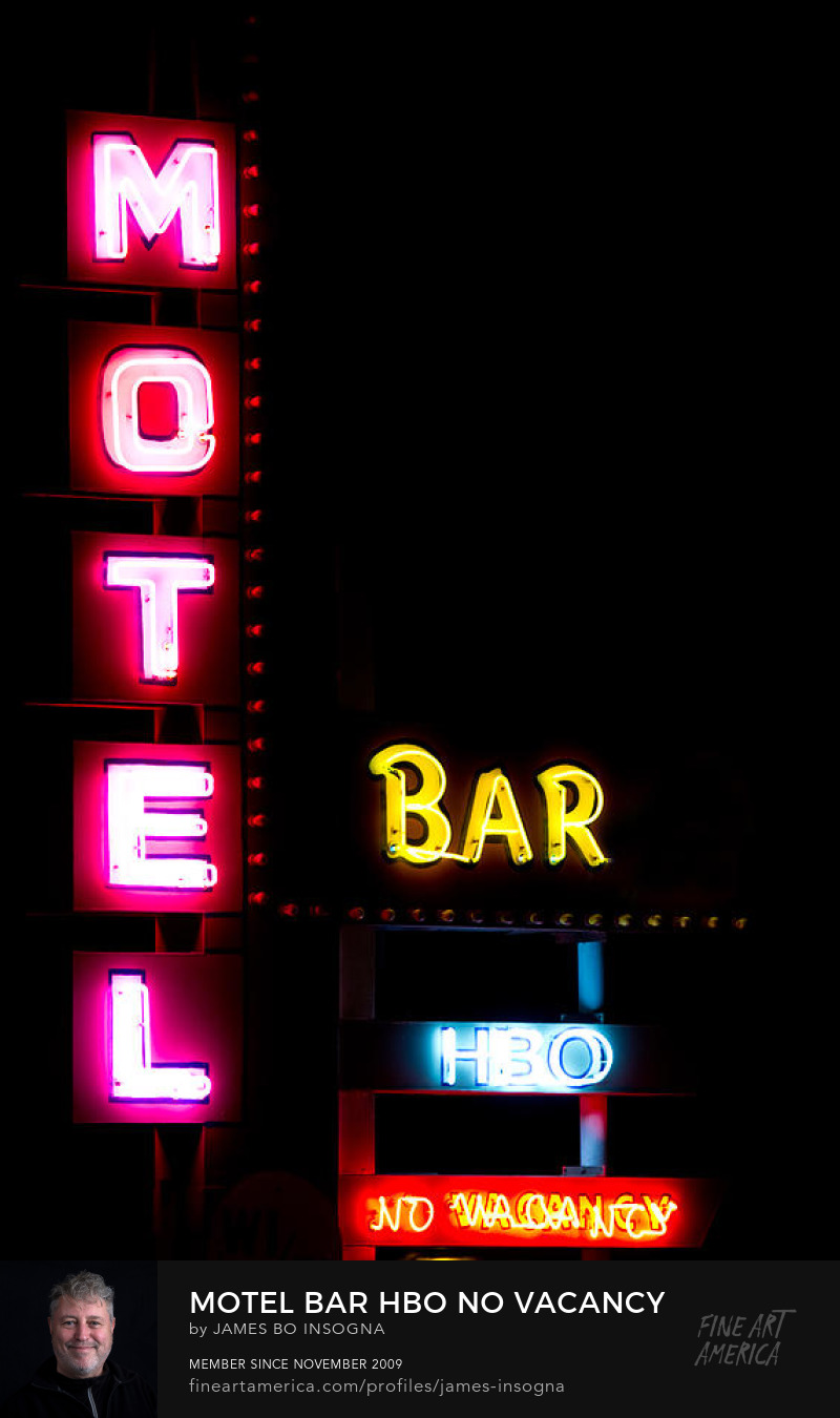 Motel Bar Hbo No Vacancy Photography Prints
