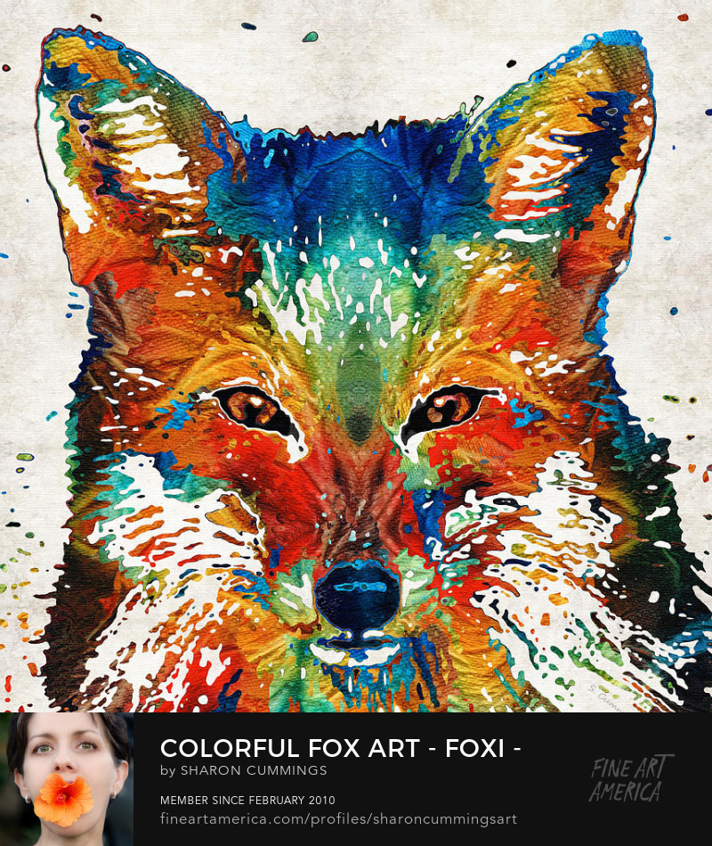 Fox Animal Art Prints