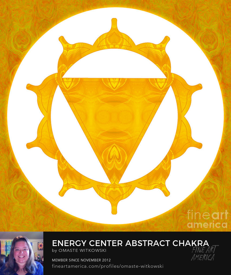 Energy Center Abstract Chakras Artwork Prints