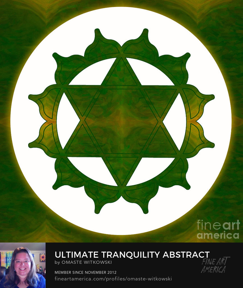 Ultimate Tranquility Abstract Chakras Art Prints