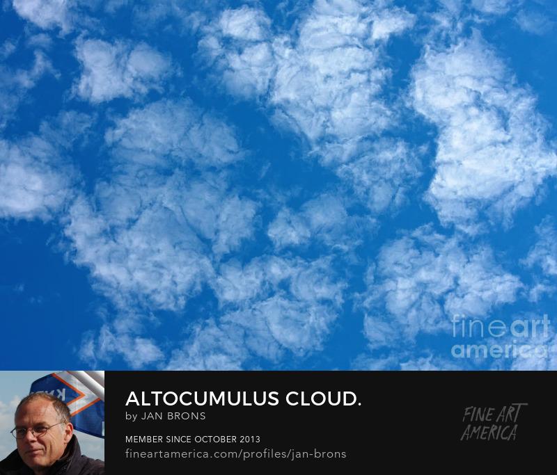 Altocumulus cloud - Art Prints