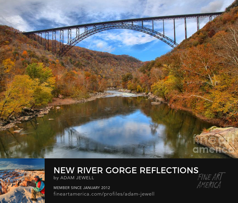 Fall Foliage At New River Gorge Bridge