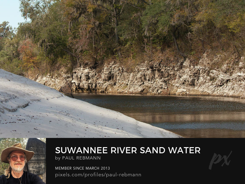 View online purchase options for Suwannee River Sand Water Rock by Paul Rebmann