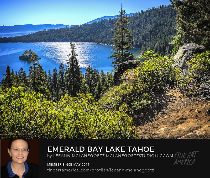 McLaneGoetzStudioLLC.com Print Emerald Bay Lake Tahoe California