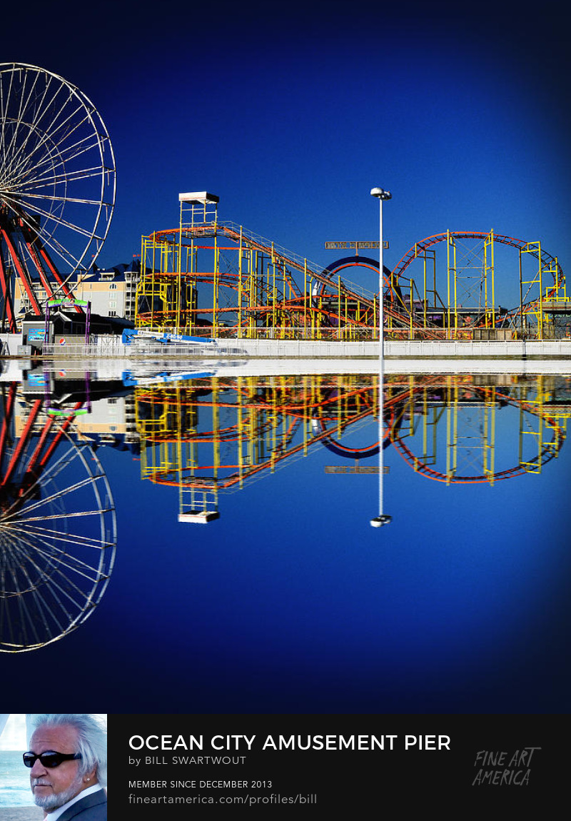 Amusement Pier Prints