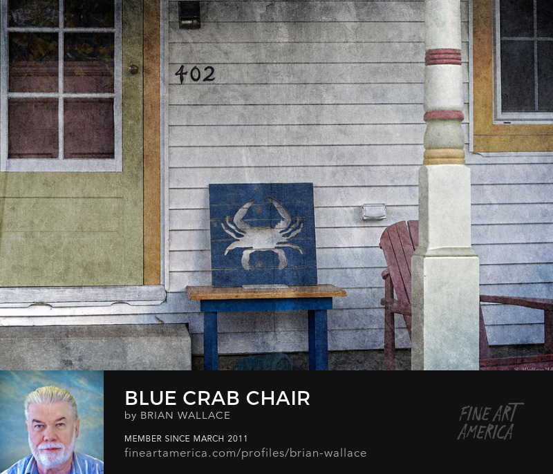 Blue Crab Chair by Brian Wallace