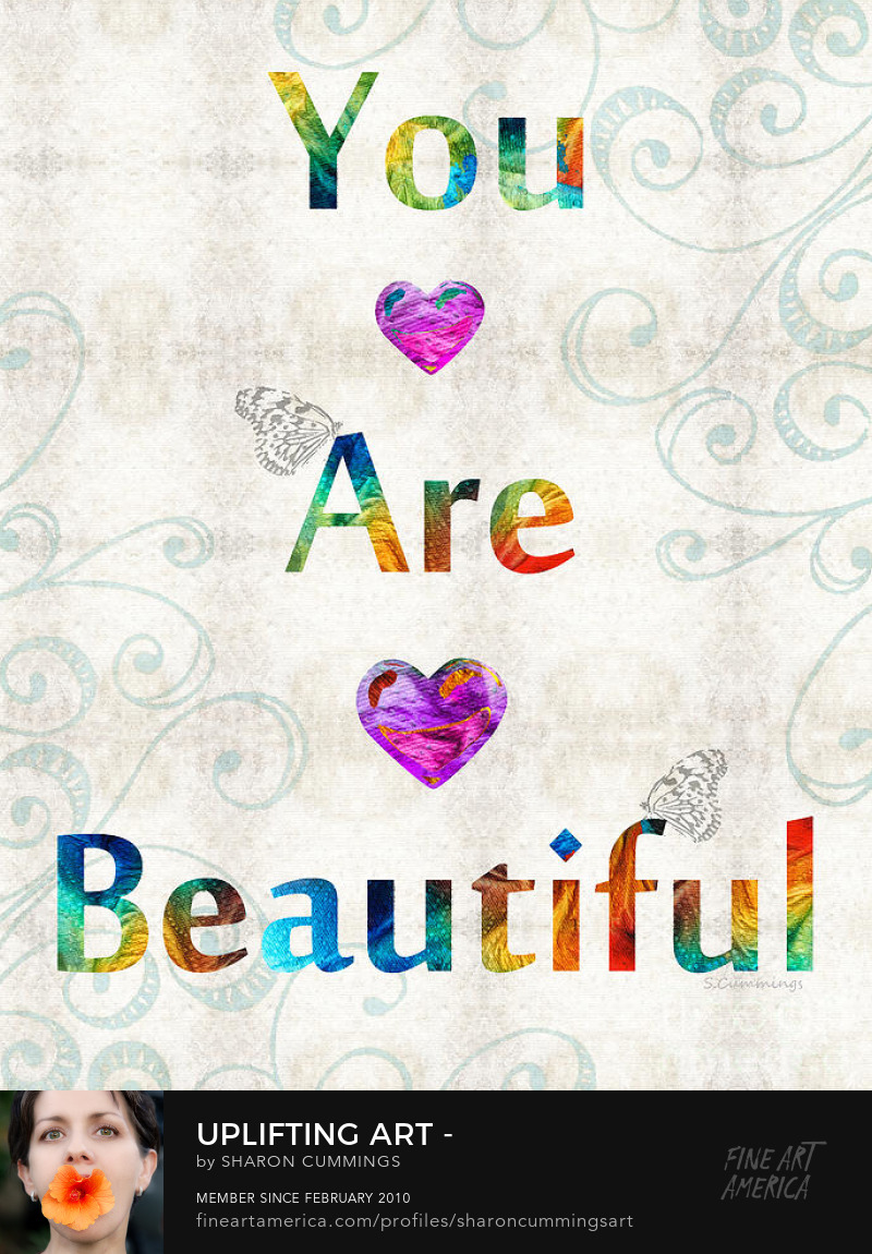 Positive Affirmations Art Prints