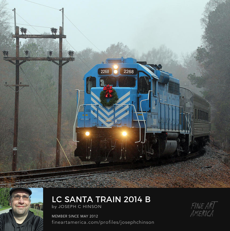 See Lancaster Santa Train Joe the Photog