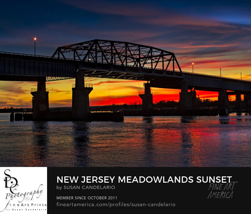 Meadowlands Secaucus Print
