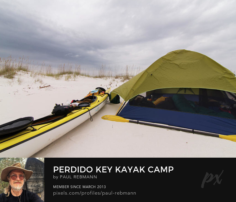 View online purchase options for Perdido Key Kayak Camp by Paul Rebmann