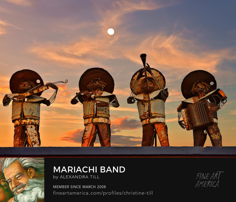 Mariachi Band - Christine Till Fine Art Photography