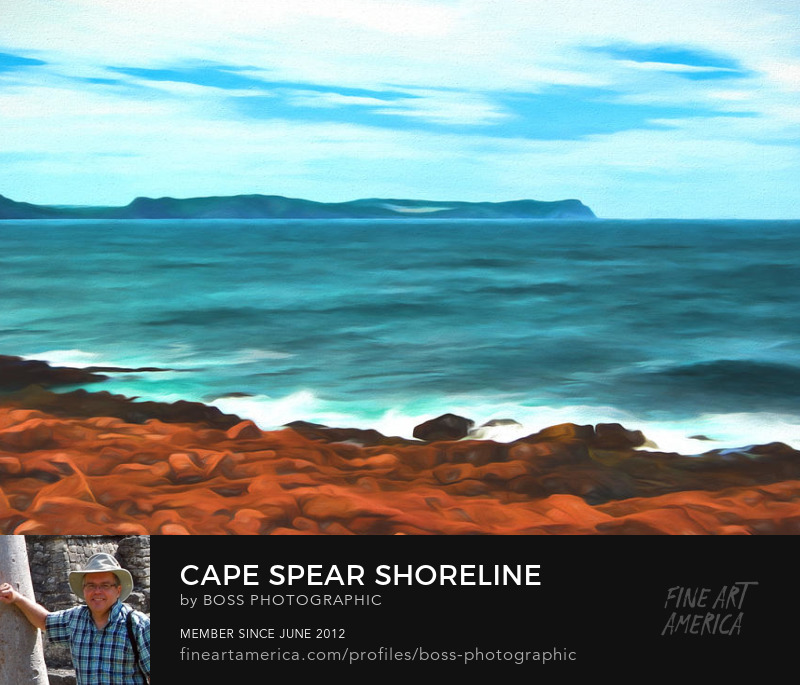 Cape Spear Shoreline