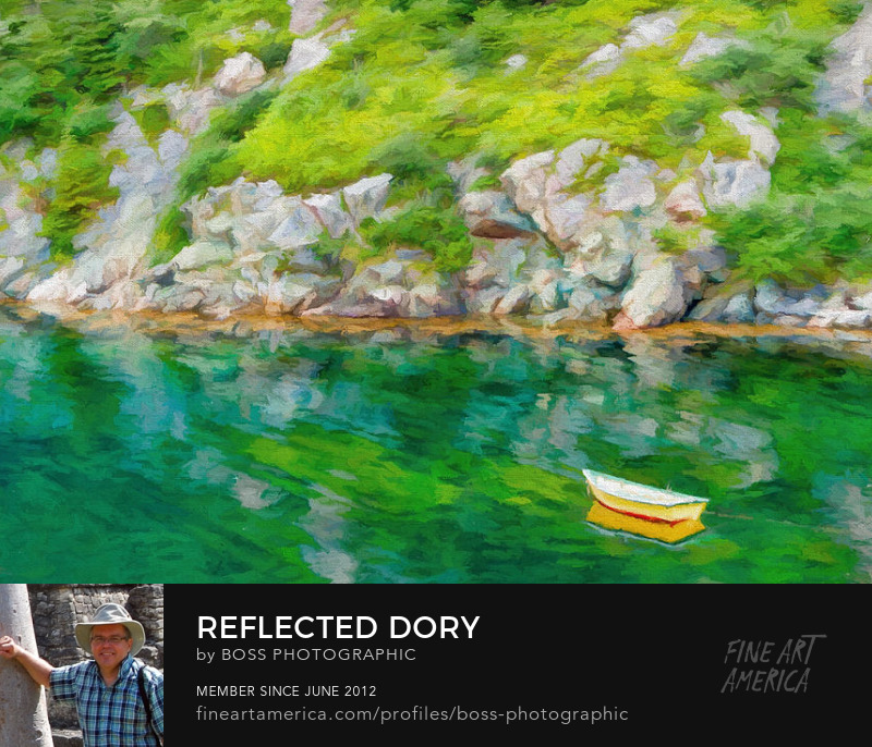 Reflected Newfoundland Dory