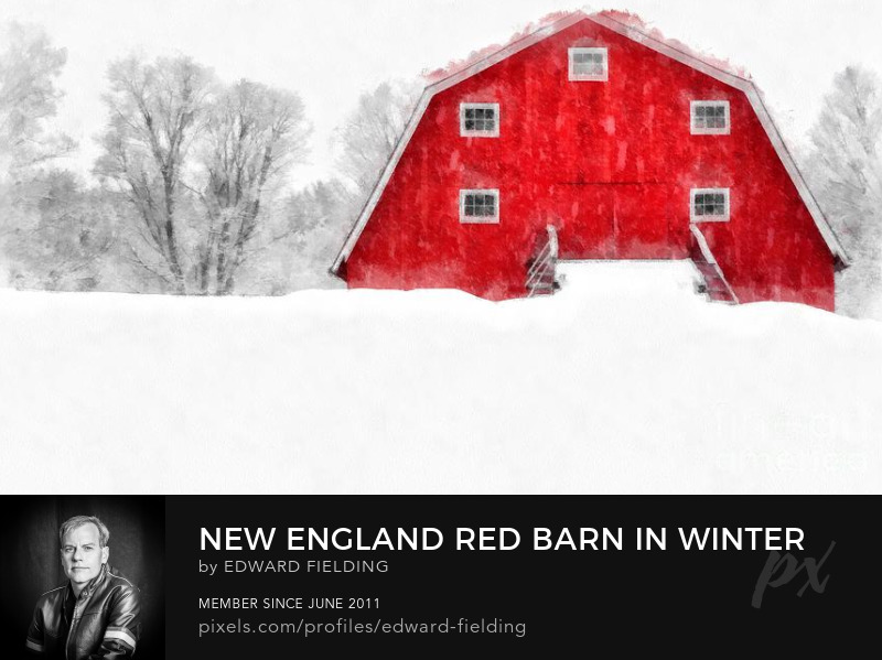New England Barn Farm Art Online