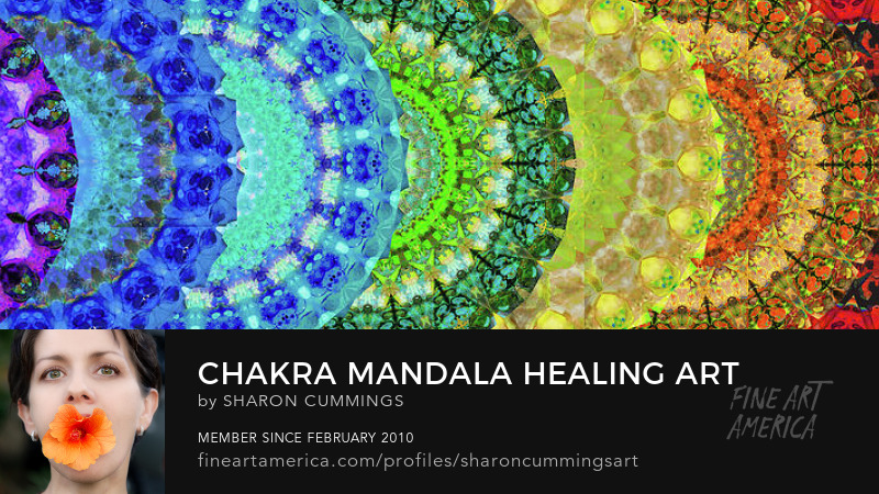 Colorful Chakra Art Prints Mandala