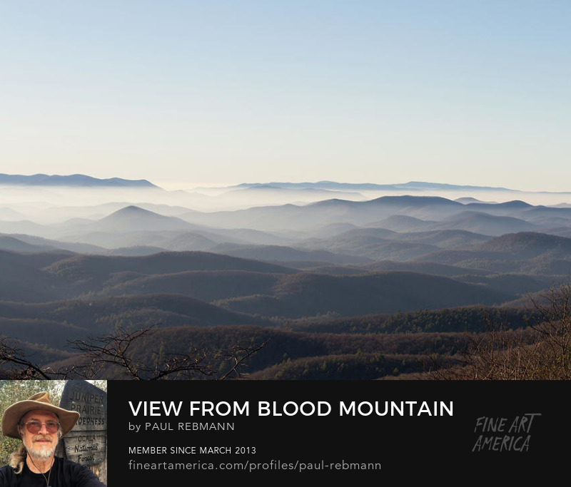 View from Blood Mountain by Paul Rebmann