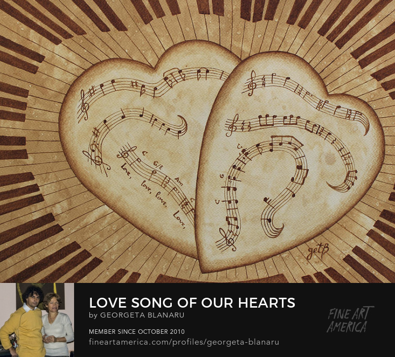 love Song of Our Hearts Art Prints FineArtAmerica Pixels Store
