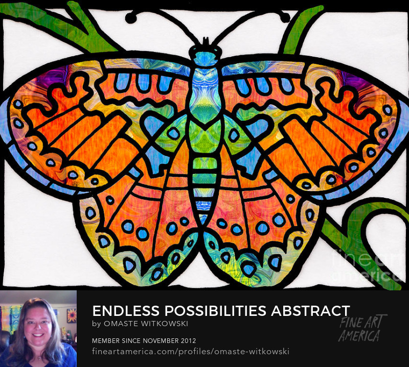 Endless Possibilities Abstract Butterfly Art Prints