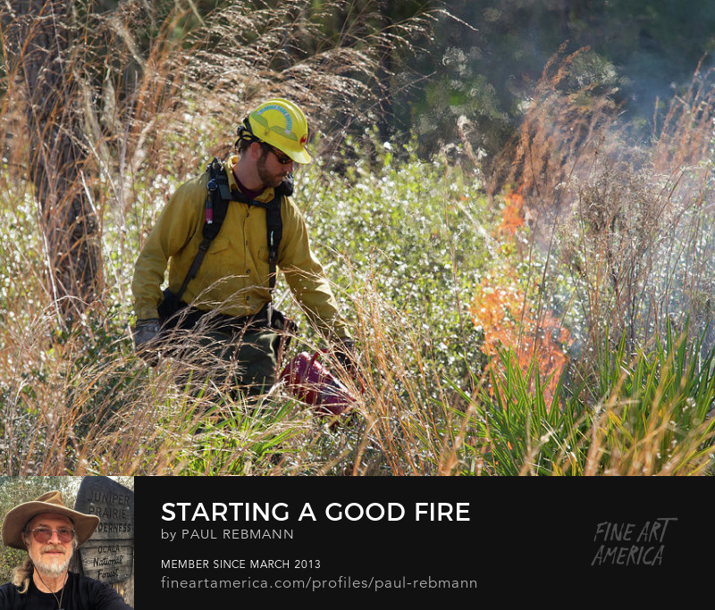 Starting a Good Fire by Paul Rebmann