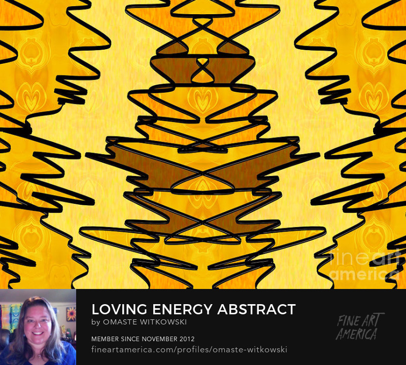 Loving Energy Abstract Fabric Design Art Prints