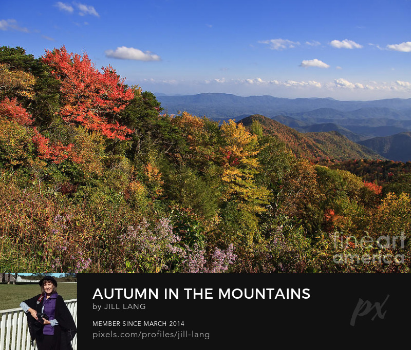 North Carolina Autumn Mountains