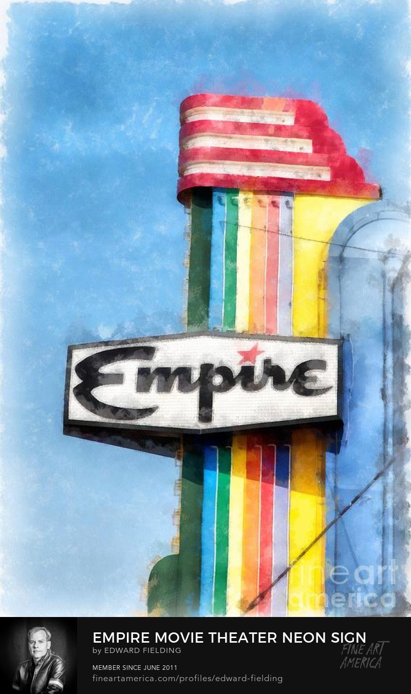 movie neon sign Art Online