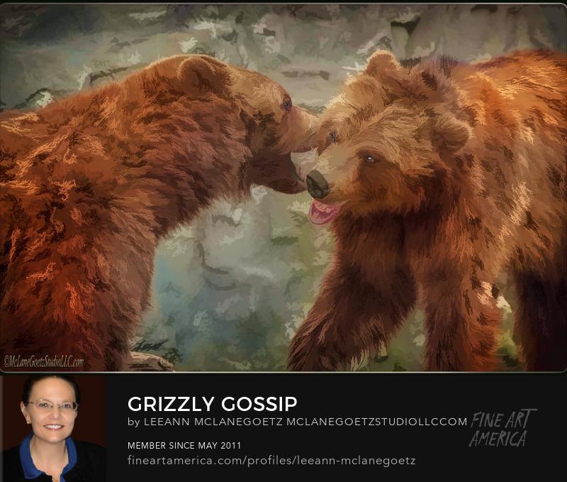 McLaneGoetzStudioLLC.com Grizzly Gossip Detroit Zoo