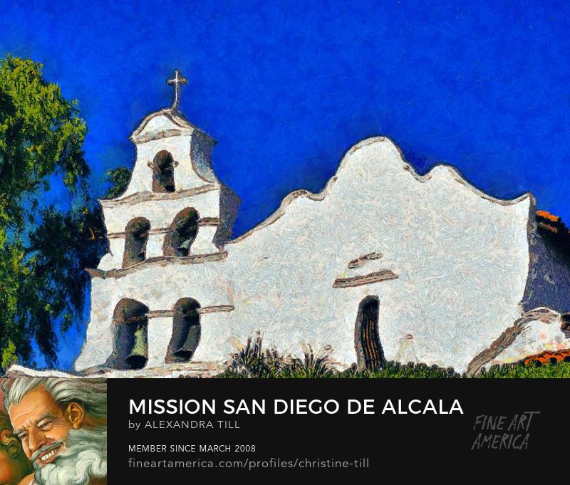 Mission San Diego de Alcala - Christine Till Fine Art Photography