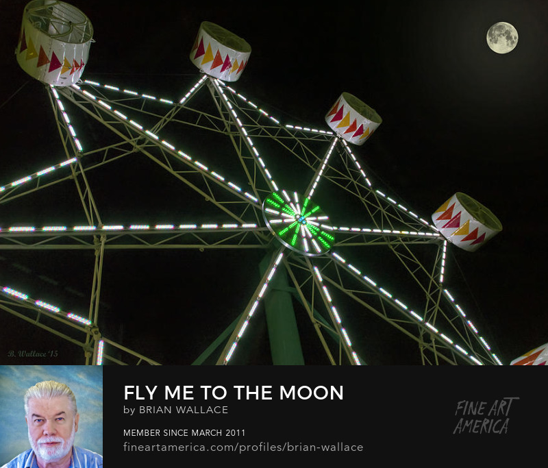 Fly Me To The Moon by Brian Wallace