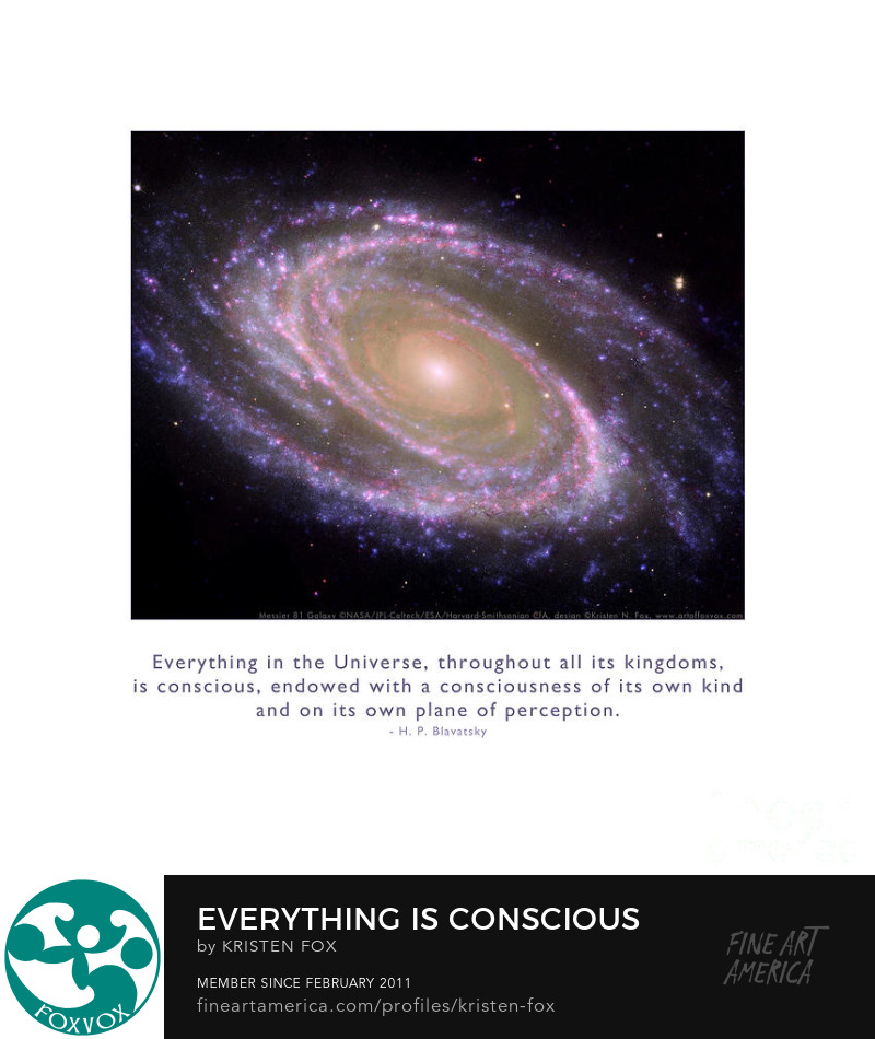 Everything is Conscious - Inspirational Art Prints