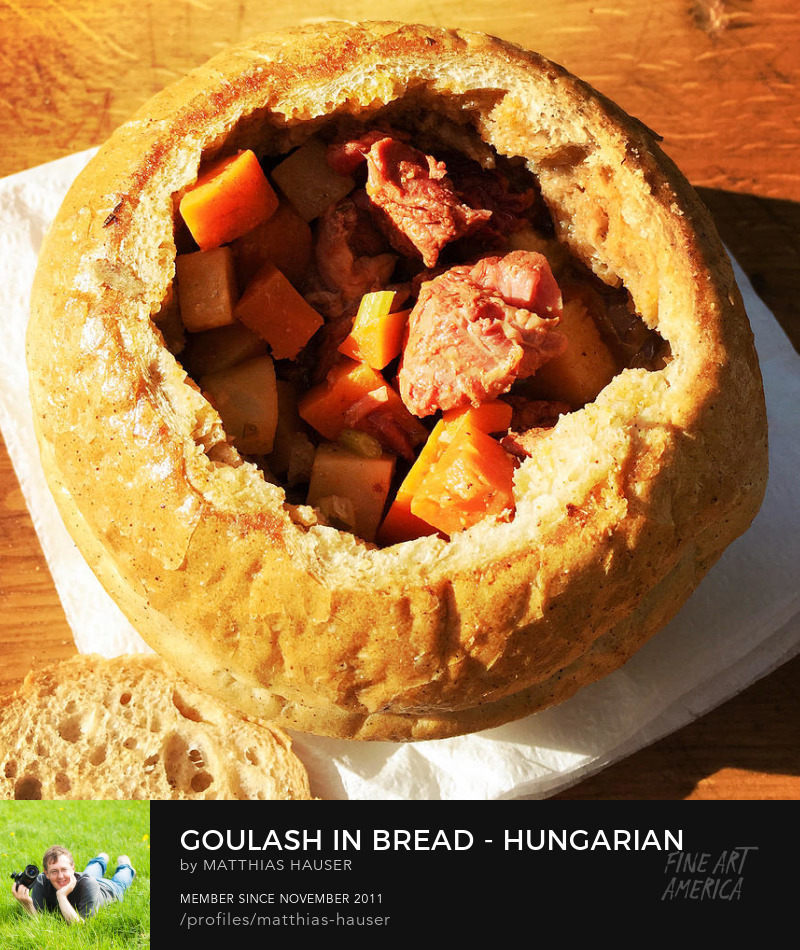 Hungarian Goulash Photography Prints