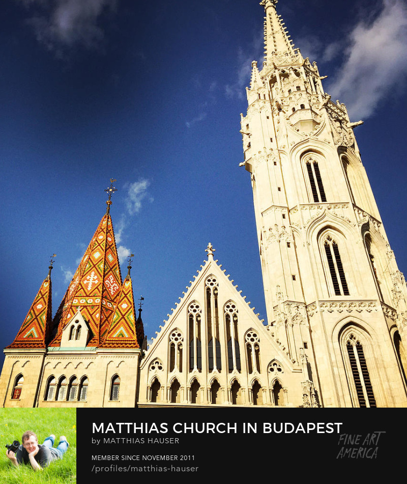 Matthias Church Budapest Photography Prints