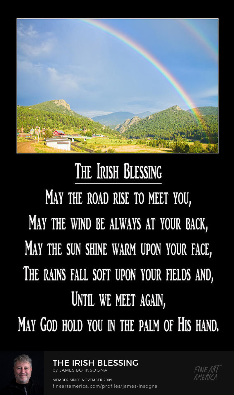 The Irish Blessing Art Prints Posters