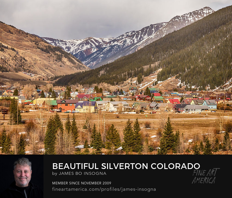 Beautiful Colorful Silverton Colorado Art Prints