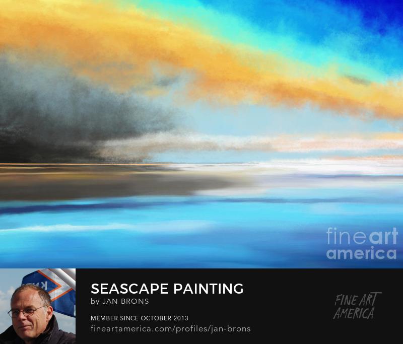 Seascape painting - Art Prints