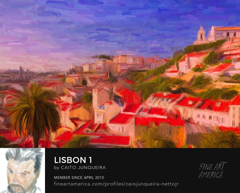 Buy a Lisbon Fine Art Print