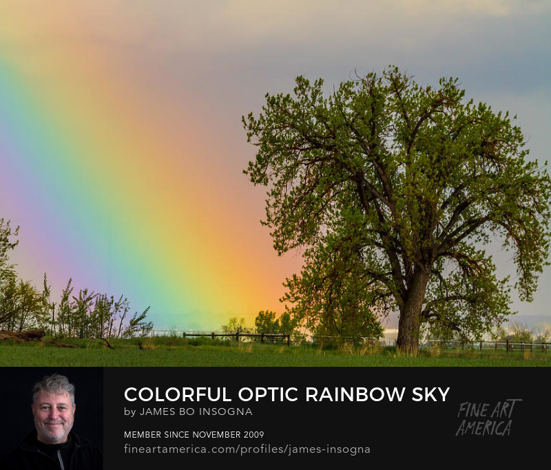 Rainbow From Heaven Nature Landscape Art Prints