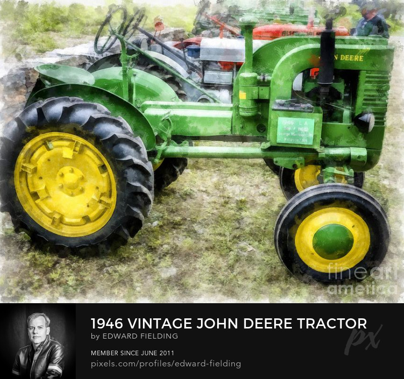 tractor Art Prints