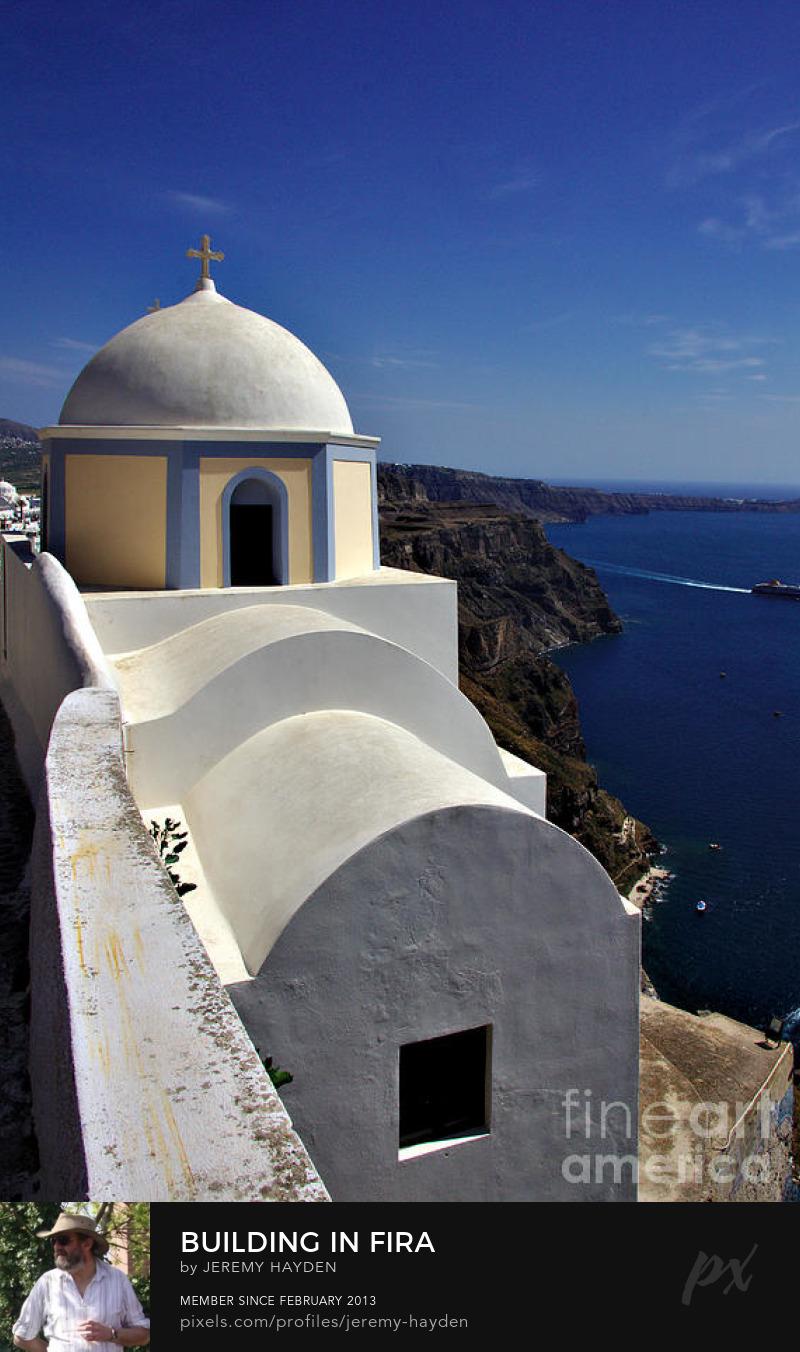 Santorini on pixels.com