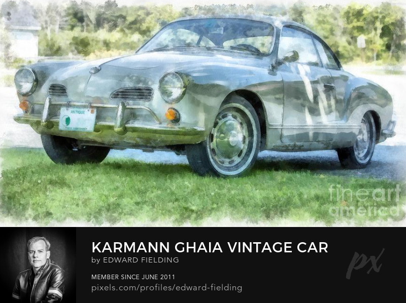 VW karmann ghaia Photography Prints