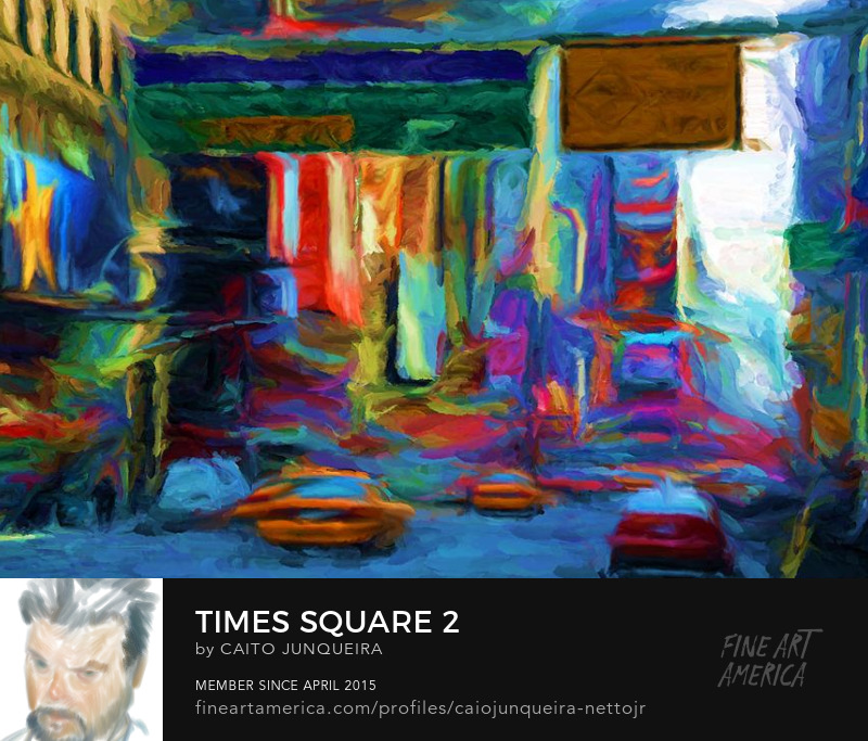Buy a Times Square Painting art print on FAA