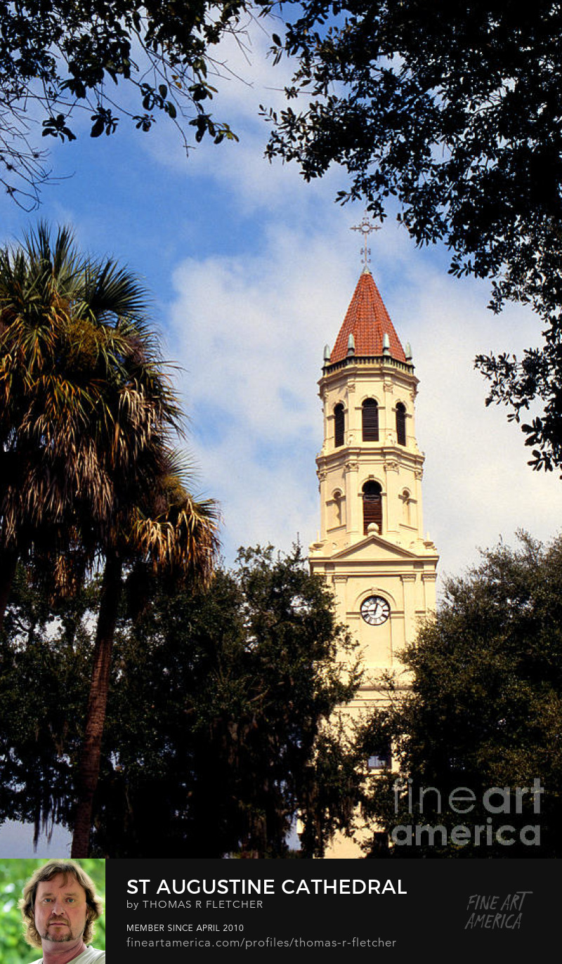 Sell Art Online USA, Florida, St Augustine, St Augustine Cathedral