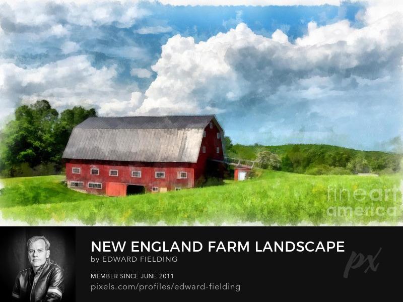 New England Barn Farm Photography Prints