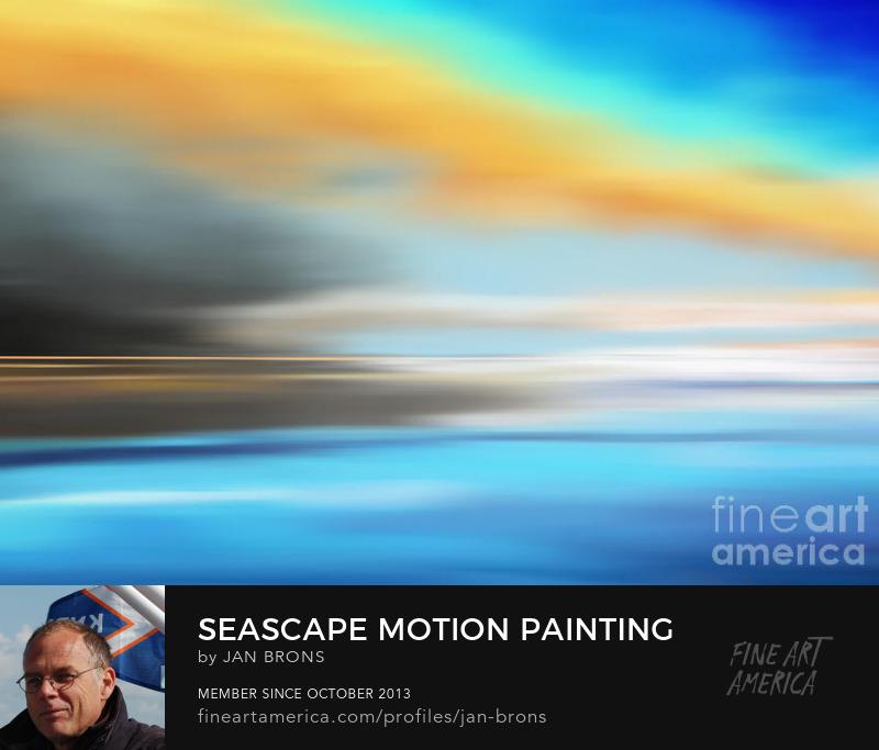 Seascape motion painting - Art Prints
