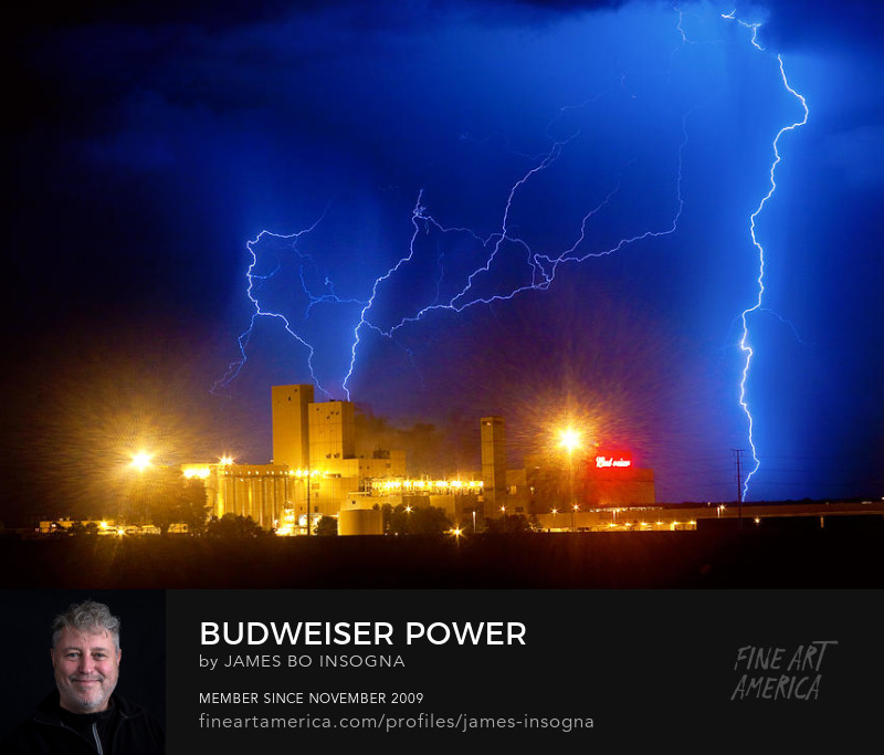 Budweiser Power Photography Prints