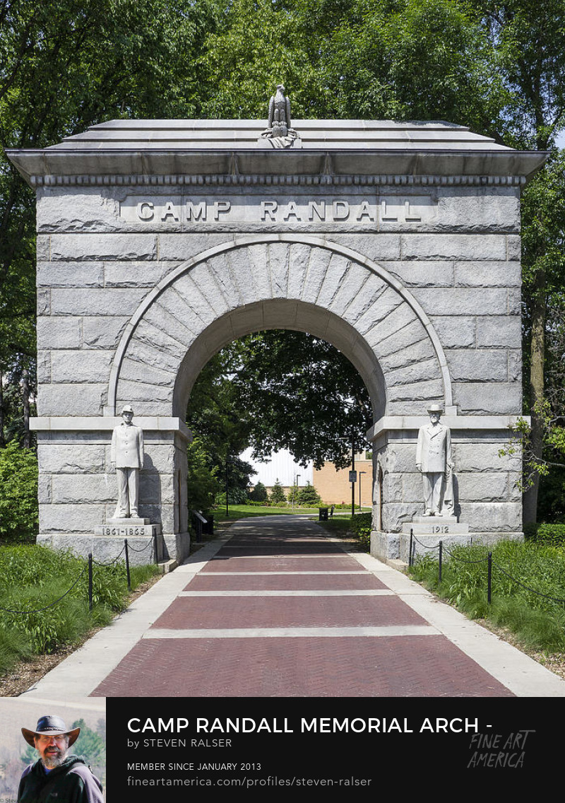 Camp Randall arch madison Wisconsin