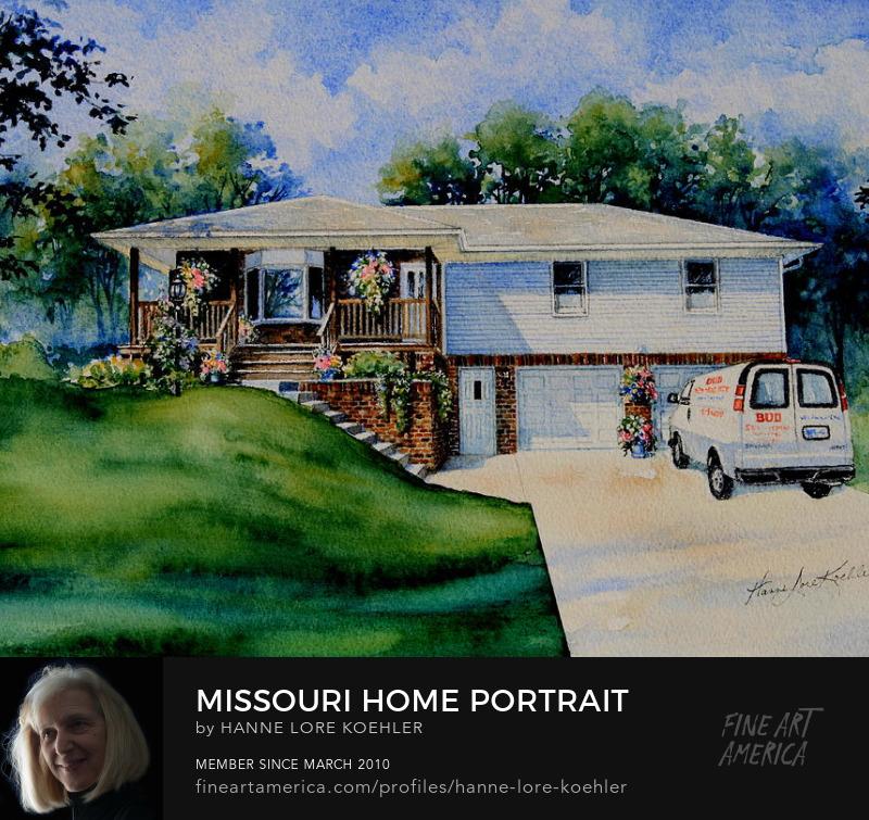 Commission A Portrait Of Your Missouri Home